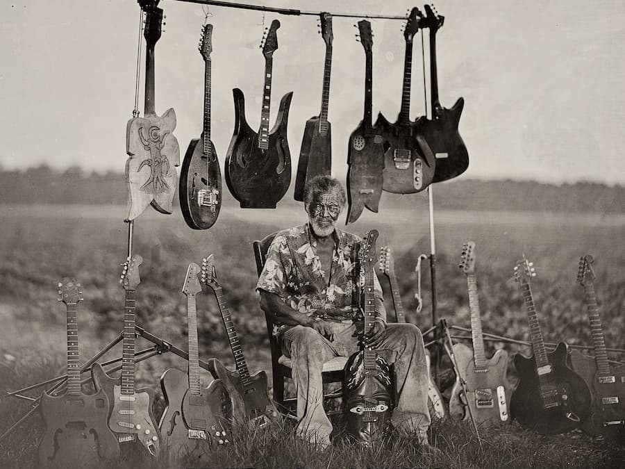 """Haunting"" (Rolling Stone) Hanging Tree Guitars Book Released, Replete w/ ""Remarkable Photographs"" (Smithsonian Mag)"
